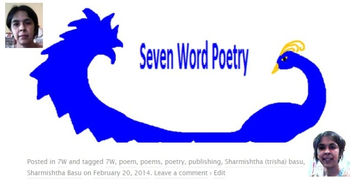 7W seven word poetry